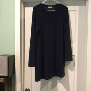 Cherish sweater dress with bell sleeves